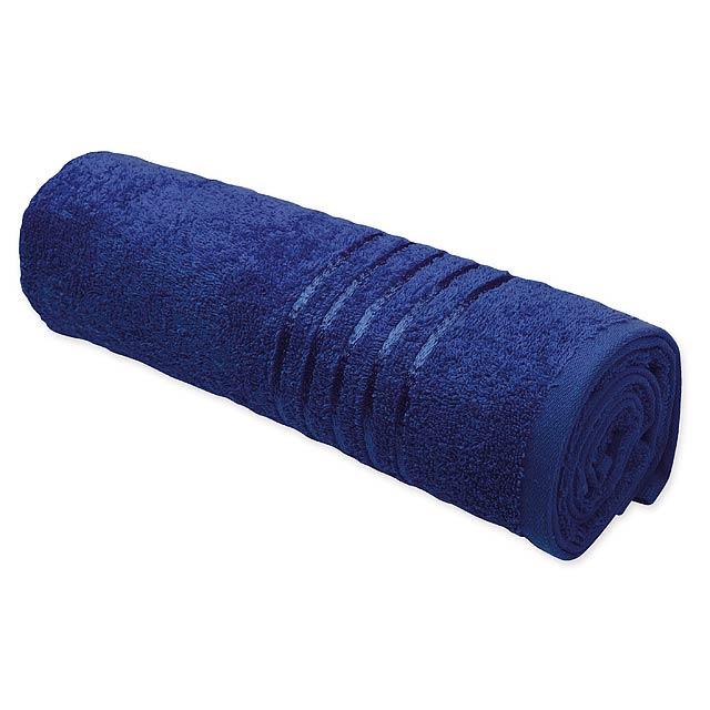 TROPIC II - osuška, 400 g/m2, SANTINI - modrá