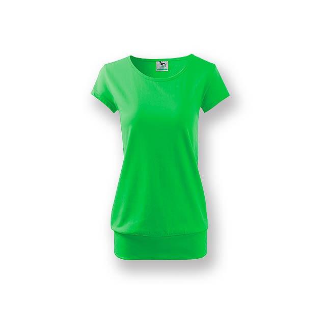 CITY triko dámské, vel. L, ADLER, Světle zelená - zelená
