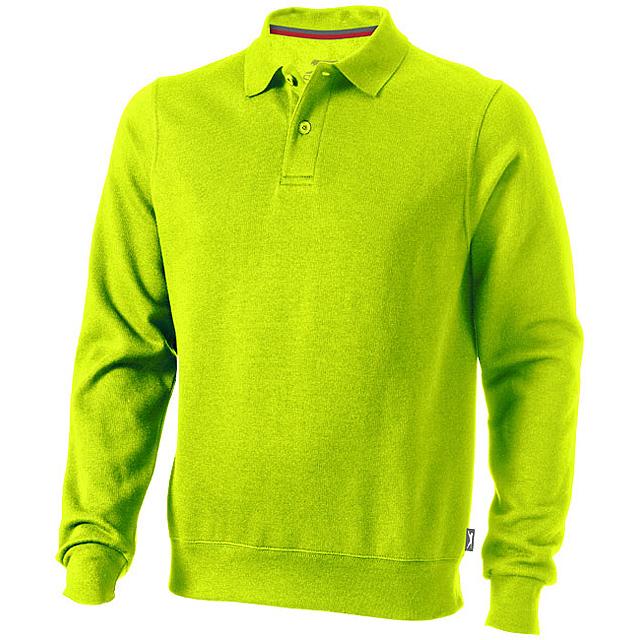 Košilová mikina Referee - zelená