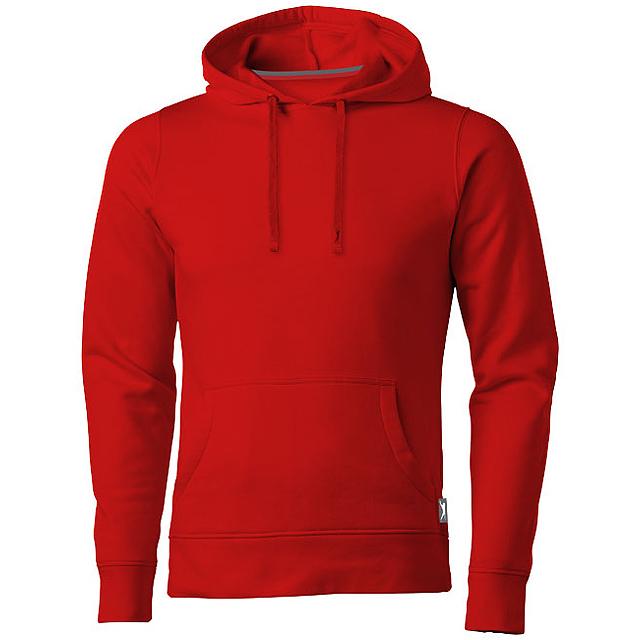 Mikina Alley s kapucí - červená