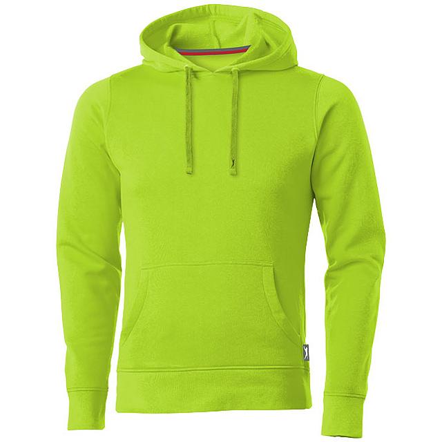 Mikina Alley s kapucí - zelená