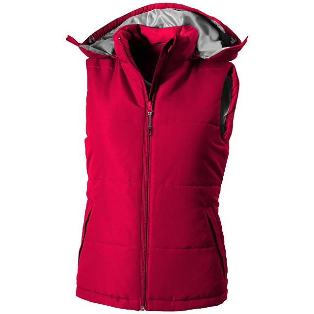 Dámská vesta Gravel - červená