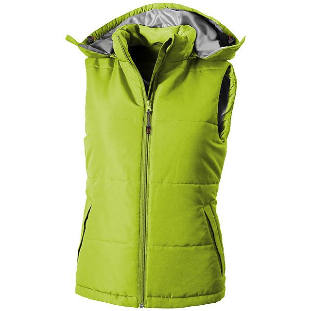 Dámská vesta Gravel - zelená