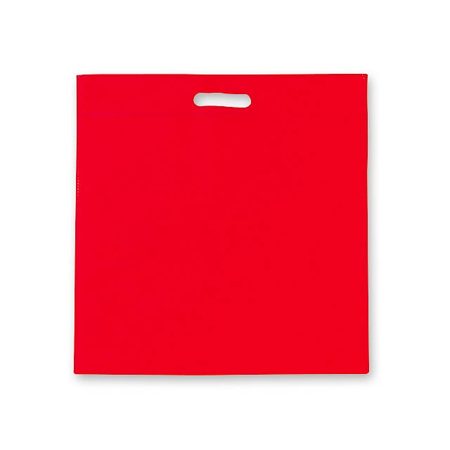 DAIA - Non-woven shopping bag, 70 gm2. - red