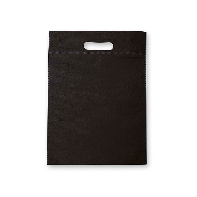 NERVA - Non-woven shopping bag, 70 g/m2. - black