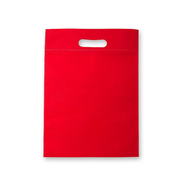 NERVA - Non-woven shopping bag, 70 g/m2. - red