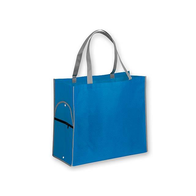 PERTINA - nákupní taška z netkané textilie, 80 g/m2 - zelená