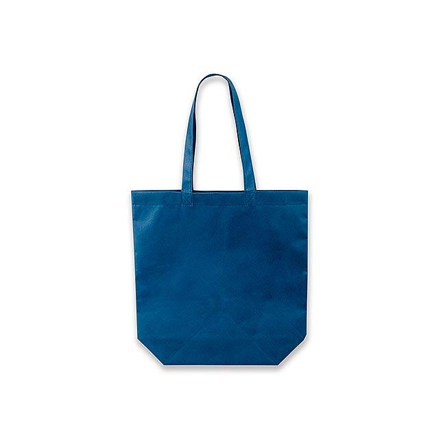 TANAH - nákupní taška z netkané textilie, 80 g/m2 - modrá