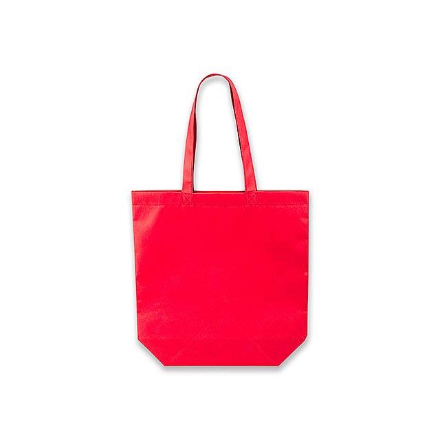 TANAH - nákupní taška z netkané textilie, 80 g/m2 - červená