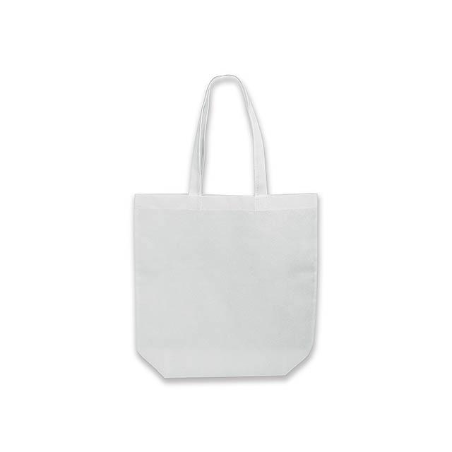 TANAH - nákupní taška z netkané textilie, 80 g/m2 - bílá