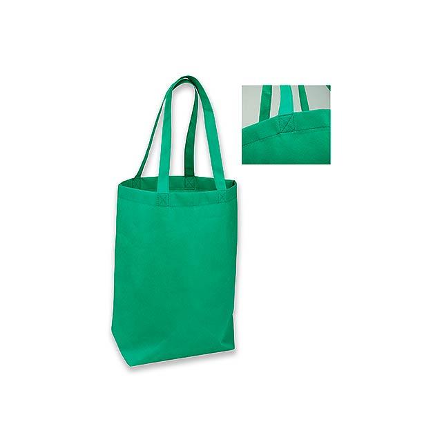 TANAH - nákupní taška z netkané textilie, 80 g/m2 - zelená