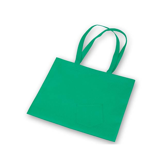 ROXANA - nákupní taška z netkané textilie, 80 g/m2 - zelená