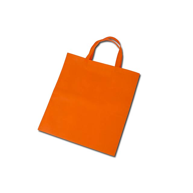 TAZARA nákupní taška z netkané textilie, 80 g/m2, Oranžová - oranžová