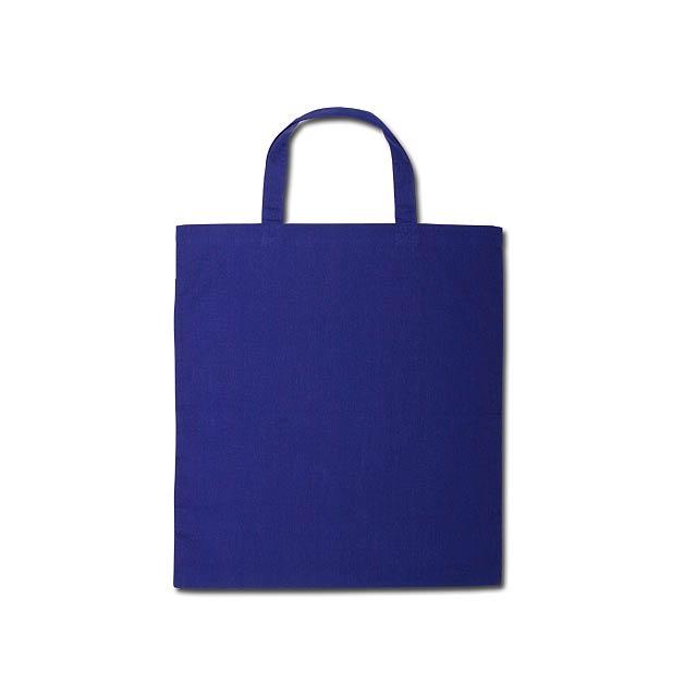 ALENA II - bavlněná nákupní taška, 100 g/m2 - modrá