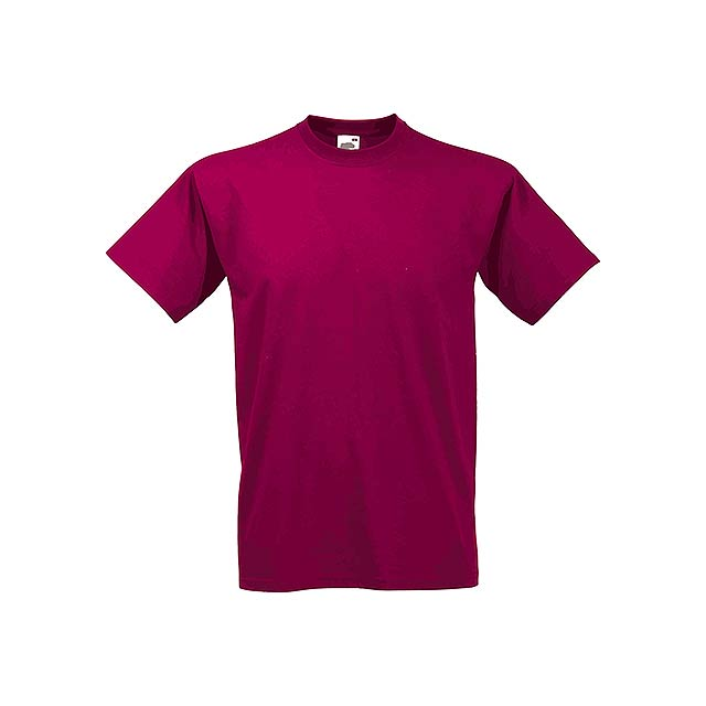VALUE T - unisex tričko, 160 g/m2, vel. M, FRUIT OF THE LOOM - červená