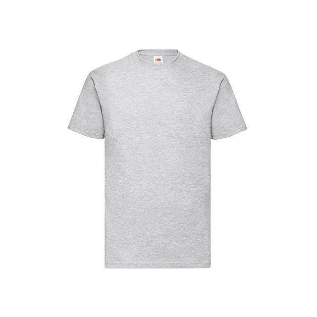 VALUE T - unisex tričko, 160 g/m2, vel. M, FRUIT OF THE LOOM - šedá