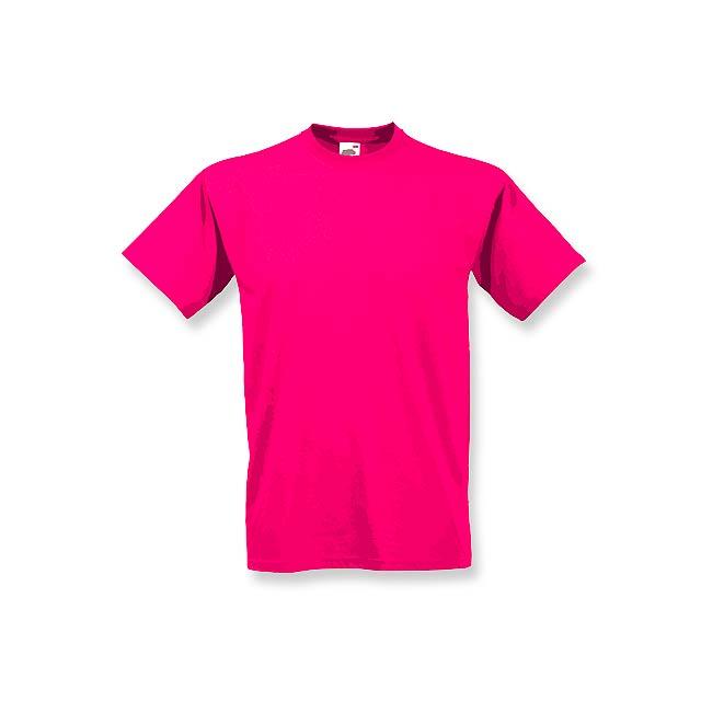 VALUE T - unisex tričko, 160 g/m2, vel. L, FRUIT OF THE LOOM - fialová