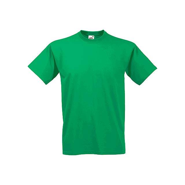 VALUE T - unisex tričko, 160 g/m2, vel. XL, FRUIT OF THE LOOM - zelená