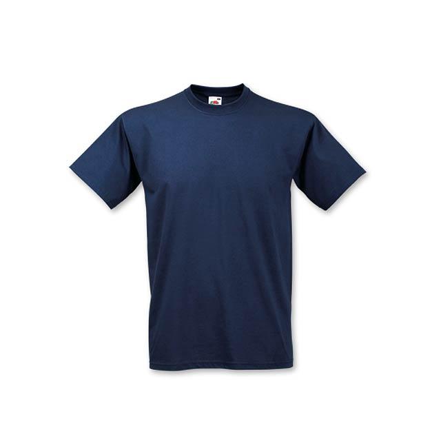 VALUE T - unisex tričko, 160 g/m2, vel. XXL, FRUIT OF THE LOOM - modrá