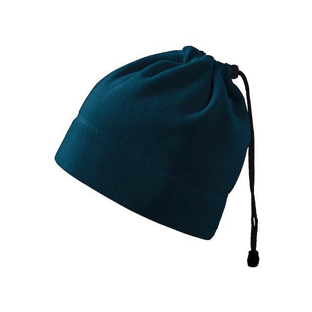 HOTTER - multifunkční unisexová fleecová čepice, 240 g/m2, ADLER - modrá