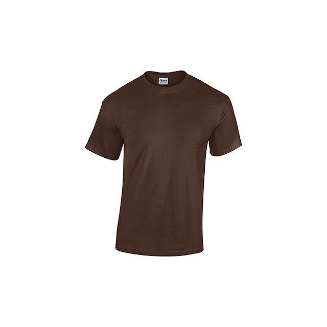 GILDREN - unisex tričko 185 g/m2, vel. S, GILDAN - hnědá