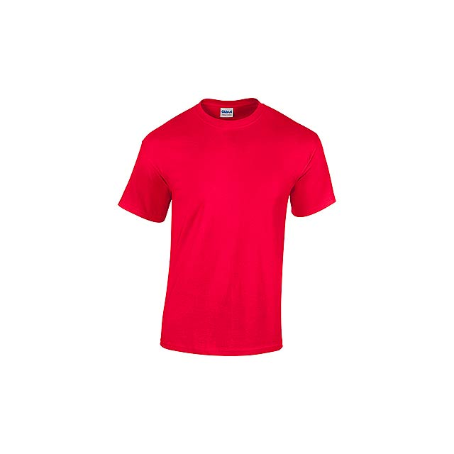 GILDREN - unisex tričko 185 g/m2, vel. S, GILDAN - červená
