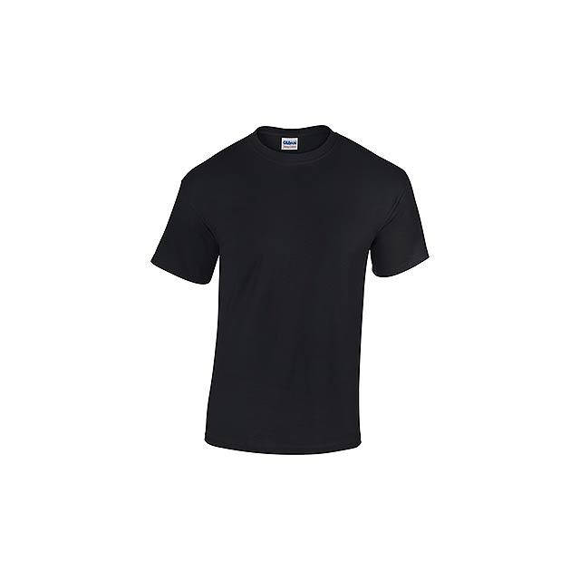 GILDREN - unisex tričko 185 g/m2, vel. M, GILDAN - černá