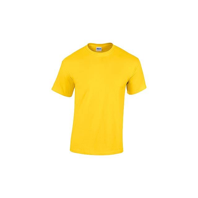 GILDREN - unisex tričko 185 g/m2, vel. M, GILDAN - žlutá