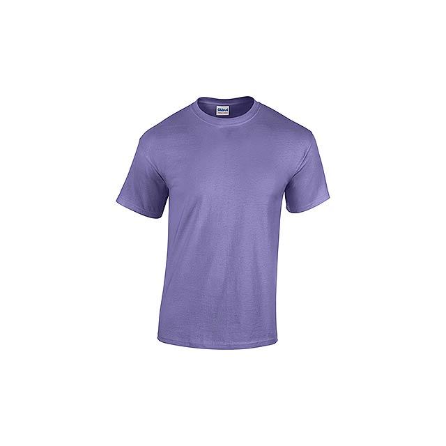GILDREN - unisex tričko 185 g/m2, vel. M, GILDAN - fialová