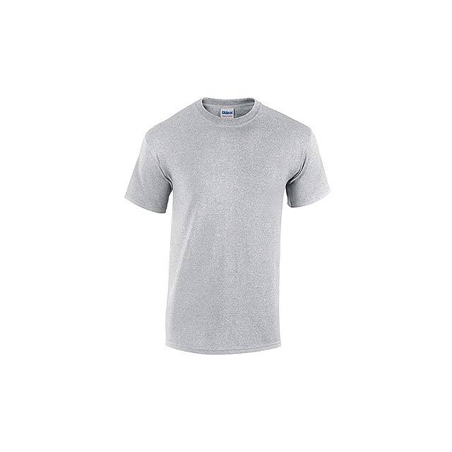 GILDREN - unisex tričko 185 g/m2, vel. L, GILDAN - šedá