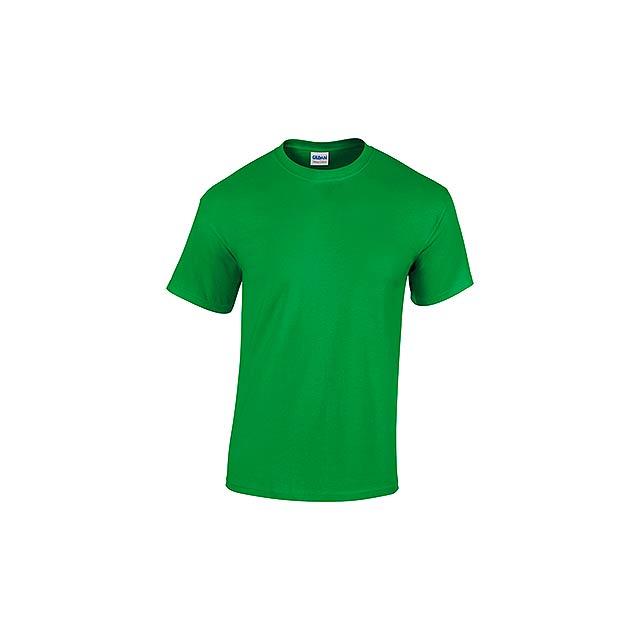 GILDREN - unisex tričko 185 g/m2, vel. XL, GILDAN - zelená