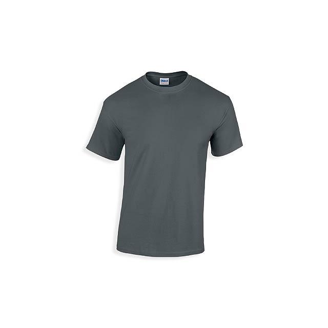 GILDREN unisex tričko 180 g/m2, vel. XL, GILDAN, Grafitově šedá - šedá
