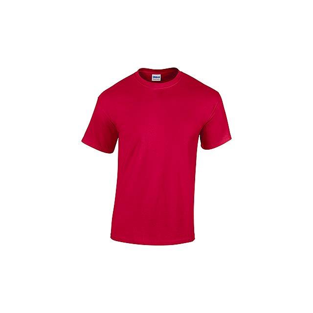 GILDREN - unisex tričko 185 g/m2, vel. XXL, GILDAN - červená
