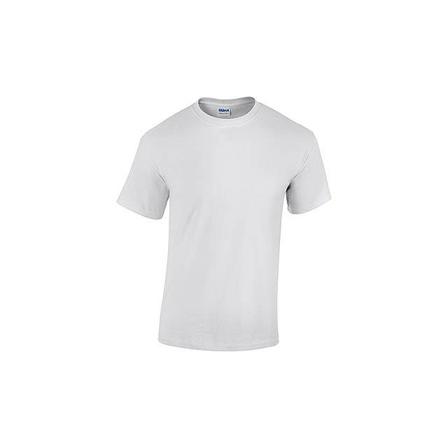 GILDREN - unisex tričko 185 g/m2, vel. XXL, GILDAN - bílá