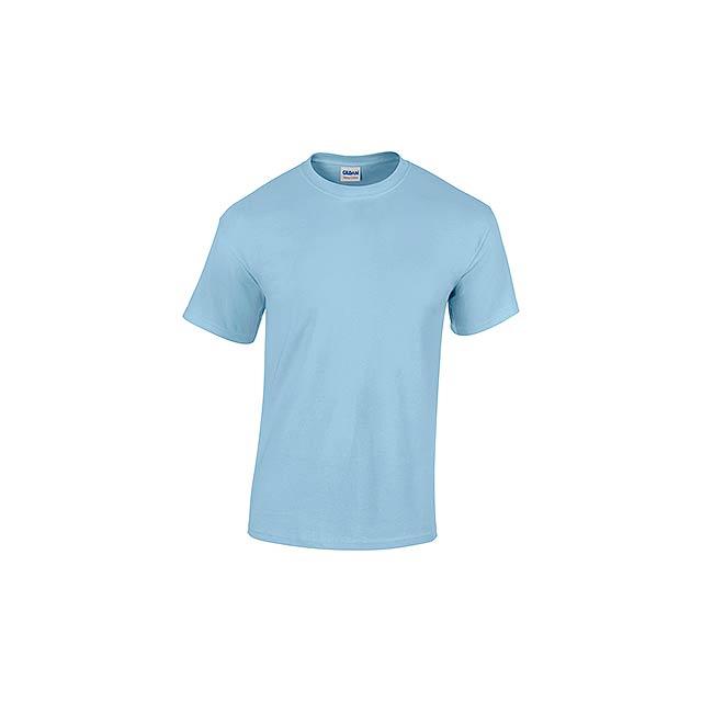GILDREN unisex tričko 180 g/m2, vel. XXL, GILDAN, Světle modrá - modrá
