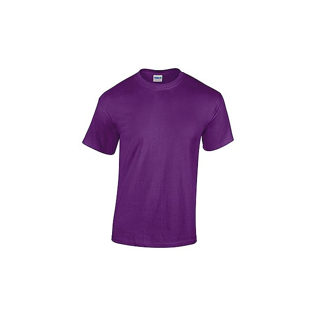 GILDREN - unisex tričko 185 g/m2, vel. XXL, GILDAN - fialová