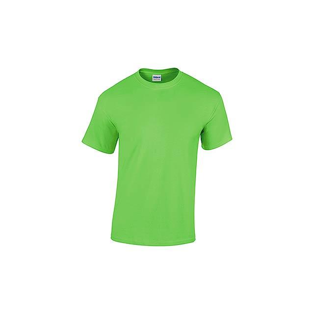 GILDREN unisex tričko 180 g/m2, vel. XXL, GILDAN, Světle zelená - zelená