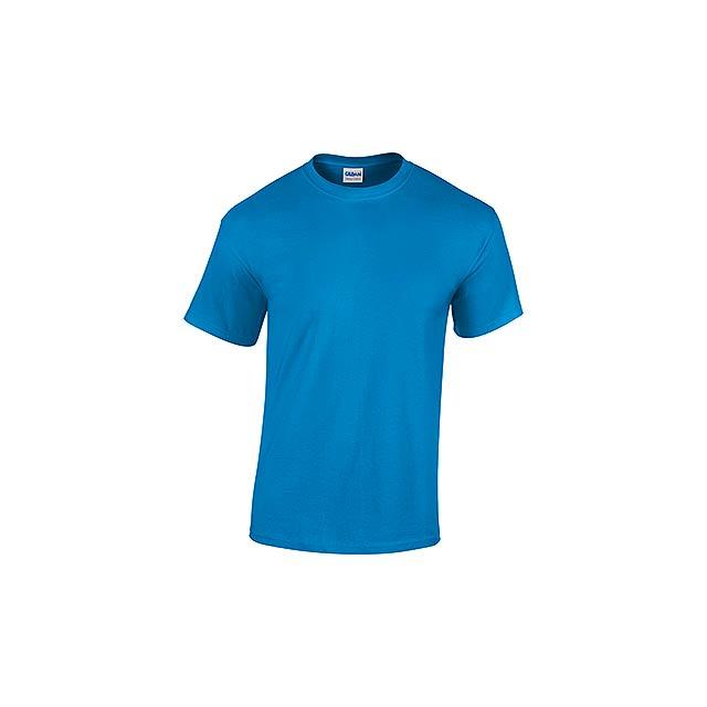 GILDREN unisex tričko 180 g/m2, vel. XXL, GILDAN, Nebesky modrá - modrá
