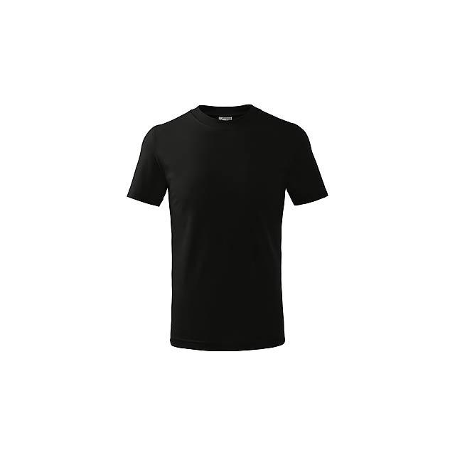 SMALLER - dětské tričko, 160 g/m2, vel. 4 roky, ADLER - černá