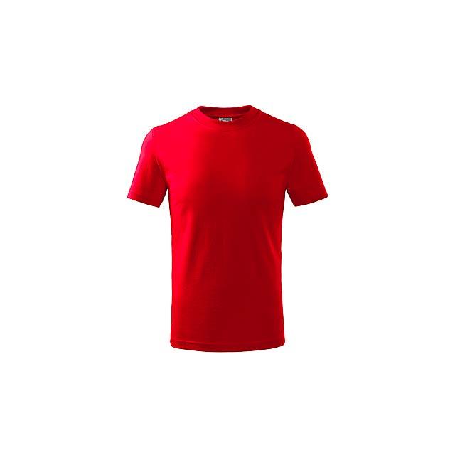 SMALLER - dětské tričko, 160 g/m2, vel. 4 roky, ADLER - červená