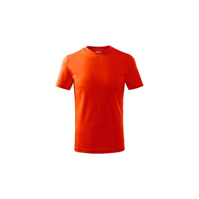 SMALLER dětské tričko, 160 g/m2, vel. 8 let, ADLER, Oranžová - oranžová