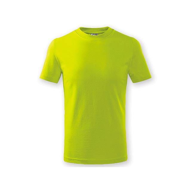 SMALLER dětské tričko, 160 g/m2, vel. 8 let, ADLER, Limetkově zelená - zelená