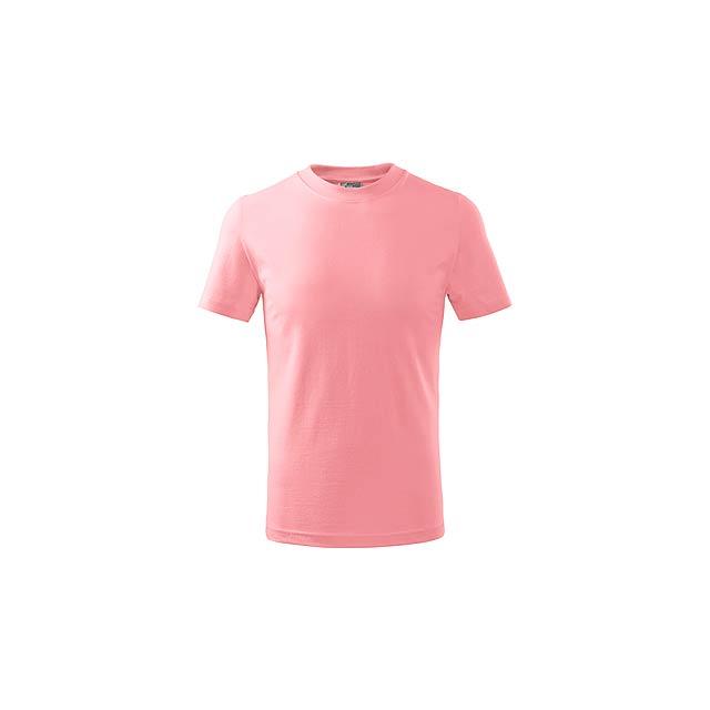 SMALLER - dětské tričko, 160 g/m2, vel. 8 let, ADLER - růžová