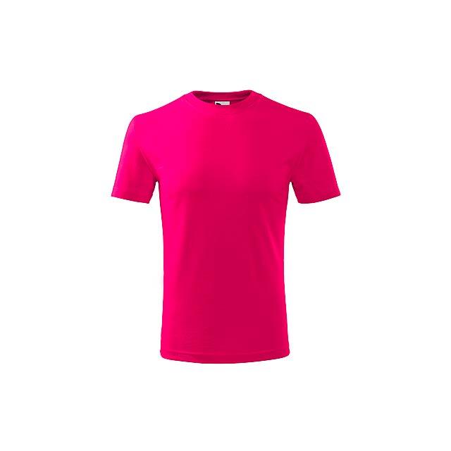 SMALLER - dětské tričko, 160 g/m2, vel. 10 let, ADLER - růžová