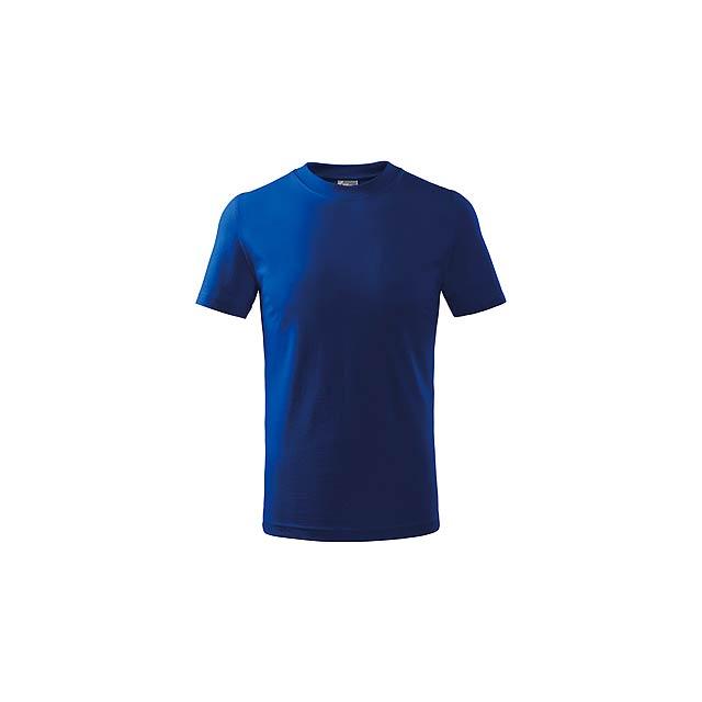 SMALLER - dětské tričko, 160 g/m2, vel. 10 let, ADLER - modrá