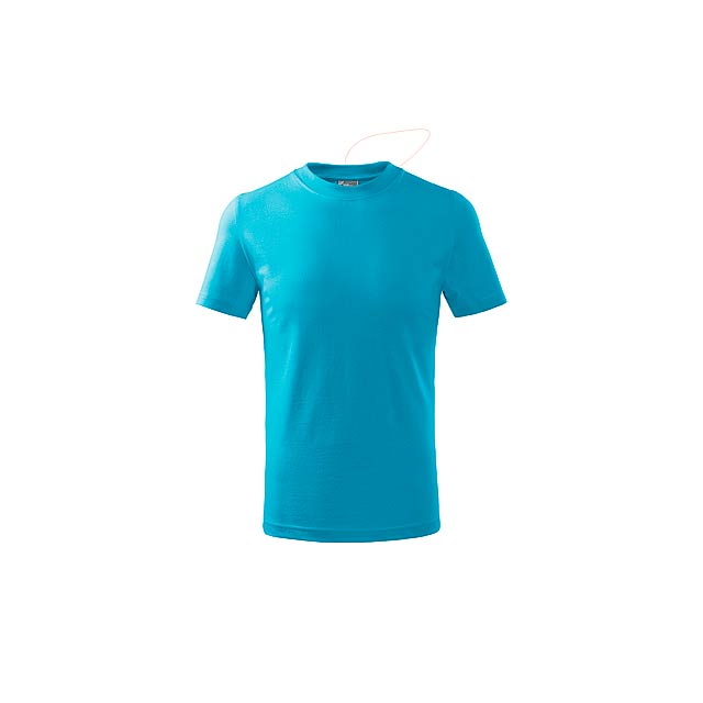SMALLER - dětské tričko, 160 g/m2, vel. 10 let, ADLER - zelená