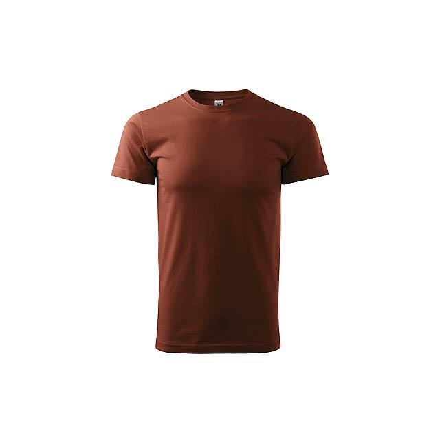 SHIRTY - unisex tričko, 200 g/m2, vel. XS, ADLER - hnědá