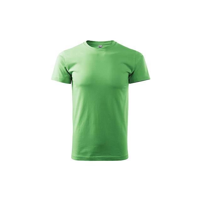 SHIRTY unisex tričko, 200 g/m2, vel. S, ADLER, Světle zelená - zelená