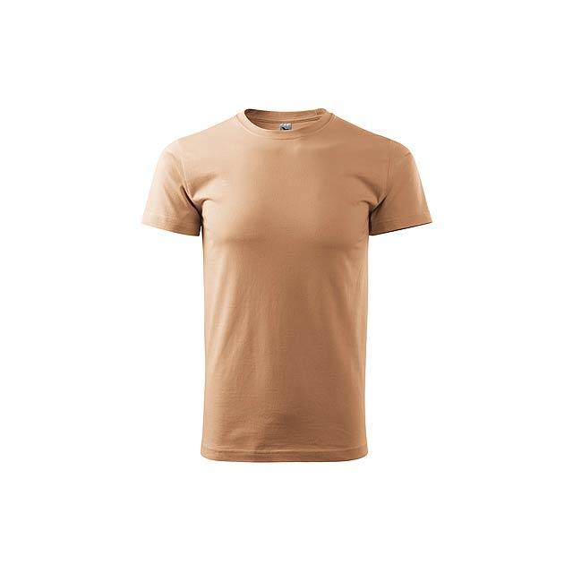 SHIRTY unisex tričko, 200 g/m2, vel. M, ADLER, Béžová - hnědá