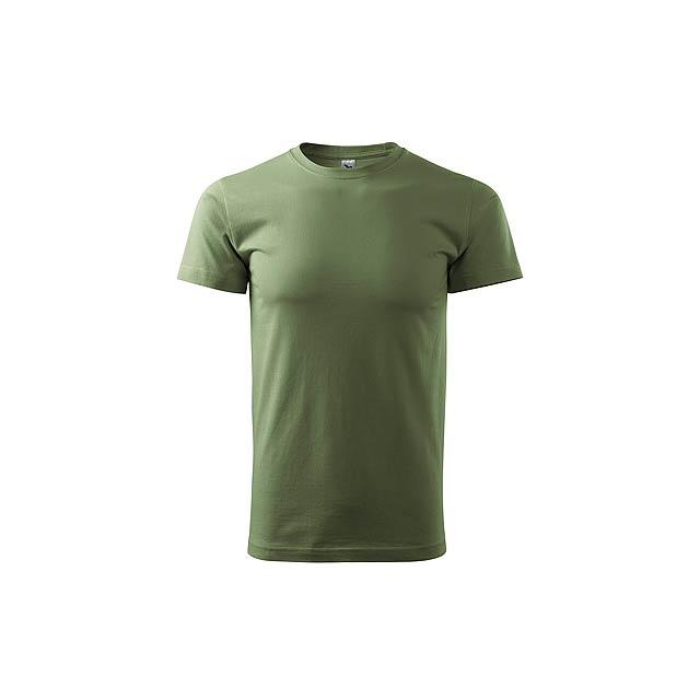 SHIRTY unisex tričko, 200 g/m2, vel. M, ADLER, Khaki - hnědá